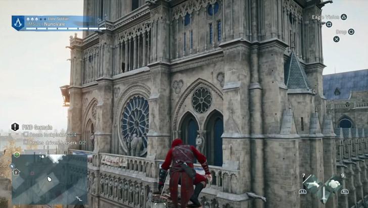 Assassins Creed podría ser de ayuda para reconstrucción de catedral de Notre Dame