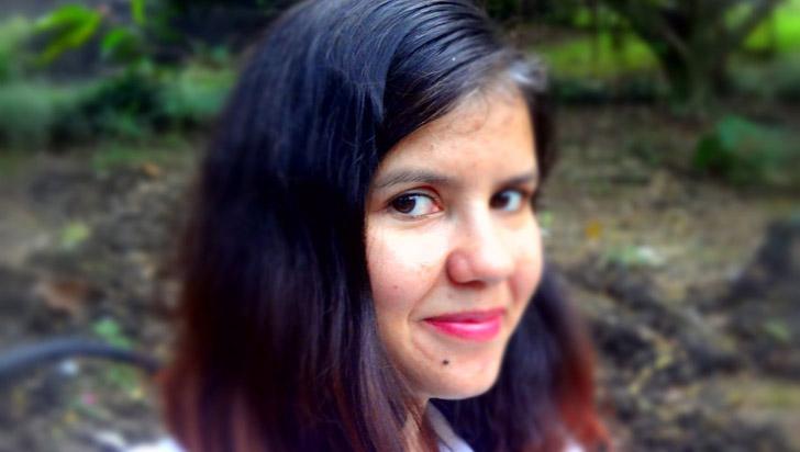 Yeni Millán es parte del grupo de mujeres escritoras del libro de antología latinoamericana de Virginia & Co