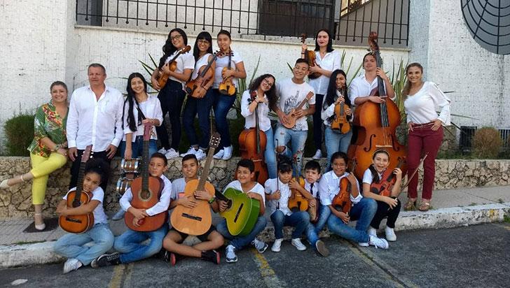 Club Rotario Armenia donará instrumentos musicales a la fundación Amor al Prójimo