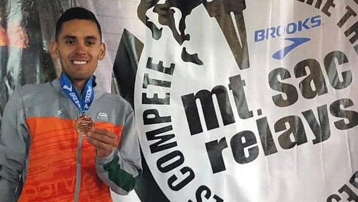 Gerard Giraldo logró marca y estará en Panamericanos 2019