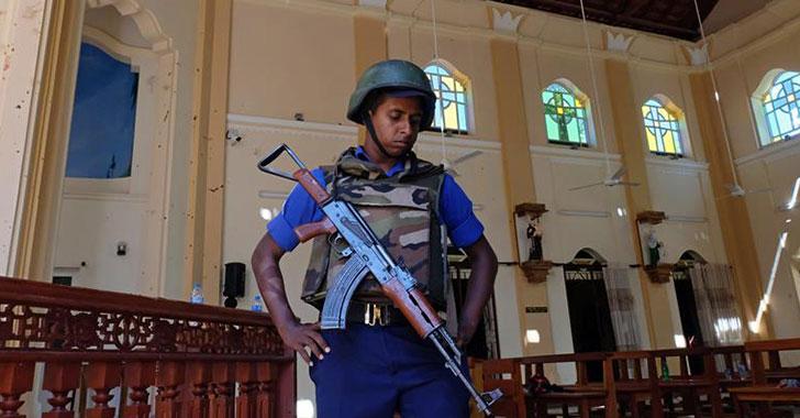 Ocho atentados en Sri Lanka dejan 207 muertos y al menos 450 heridos