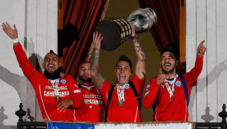 En su séptima Copa América como local, Chile alzó su primer título continental