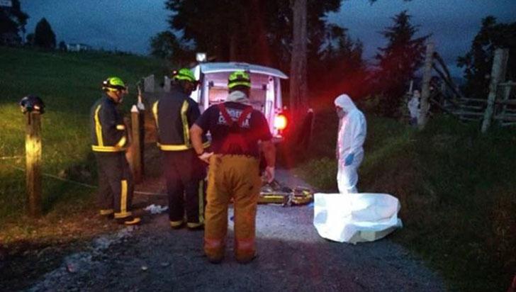 Cadáver en avanzado estado de descomposición fue hallado en alcantarilla de Salento