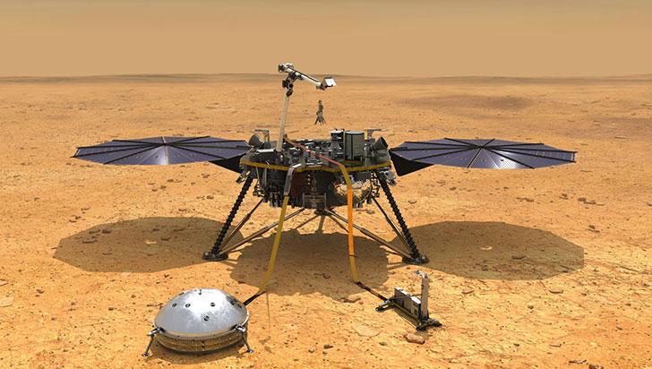 ¿En Marte también tiembla? Sonda InSight registró primer sismo en territorio marciano