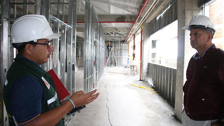 Recursos para finalizar hospital de Circasia sí están completos
