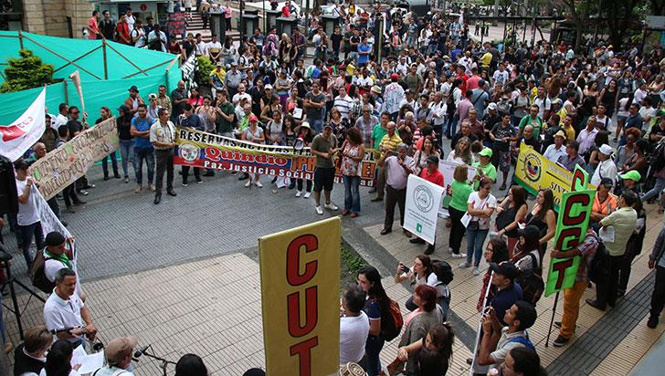 Este miércoles 1 de mayo, marcha de centrales obreras por día del Trabajo