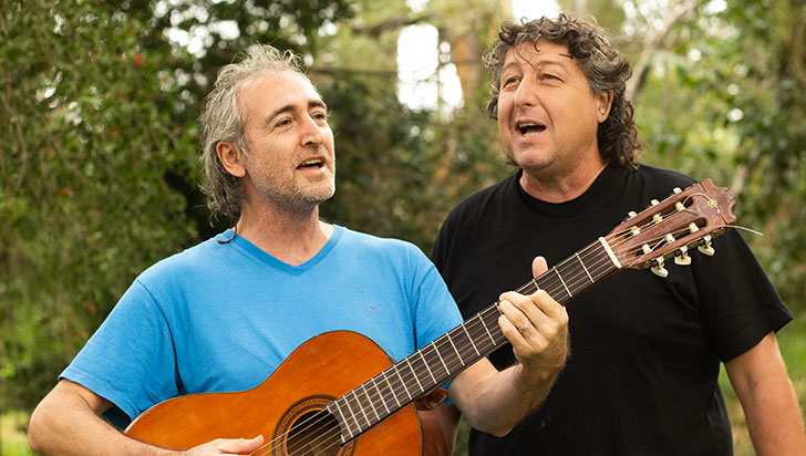 Este viernes, concierto de ritmos latinoamericanos con Martín y Mario Sossa