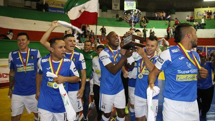 Caciques del Quindío, campeón del zonal norte de la Copa de Las Américas