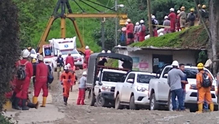 Un accidente en una mina de oro en Remedios, Antioquia, deja 21 lesionados