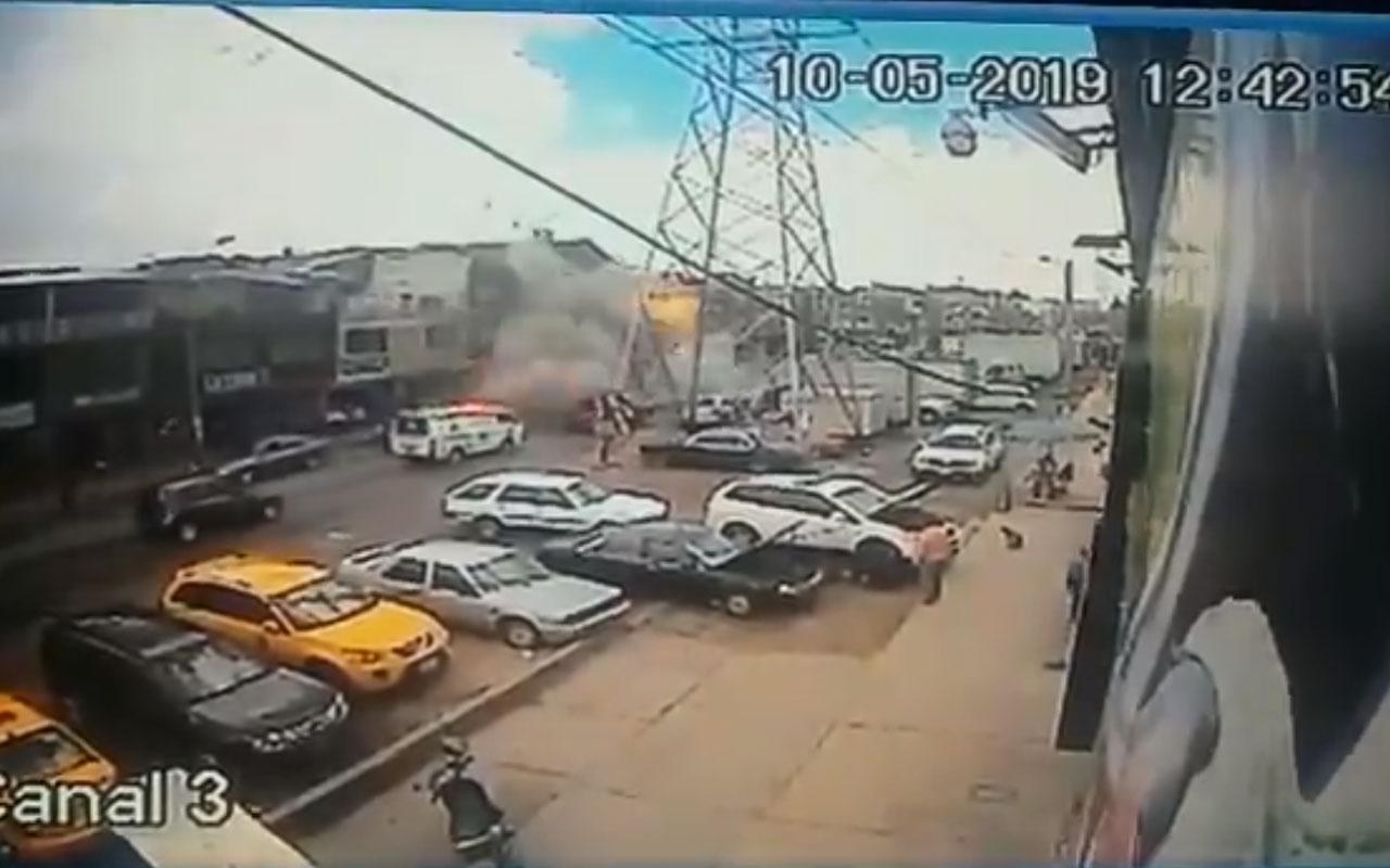 Explosión en Bogotá deja por lo menos cuatro muertos