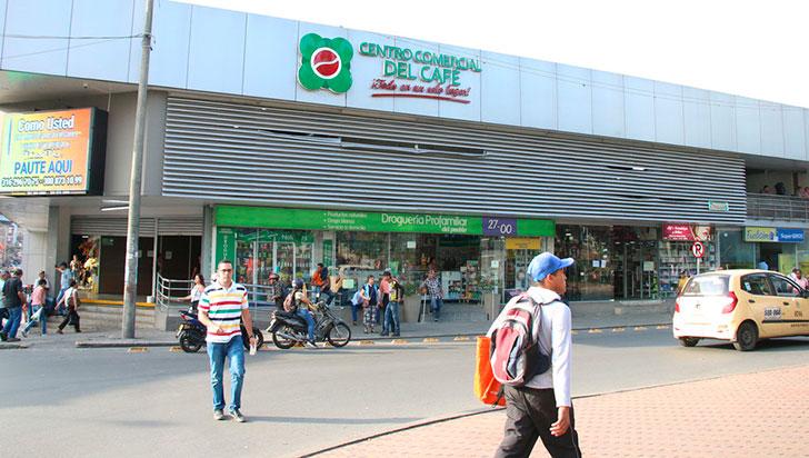 Defensoría revisa censo de vendedores del centro comercial del Café