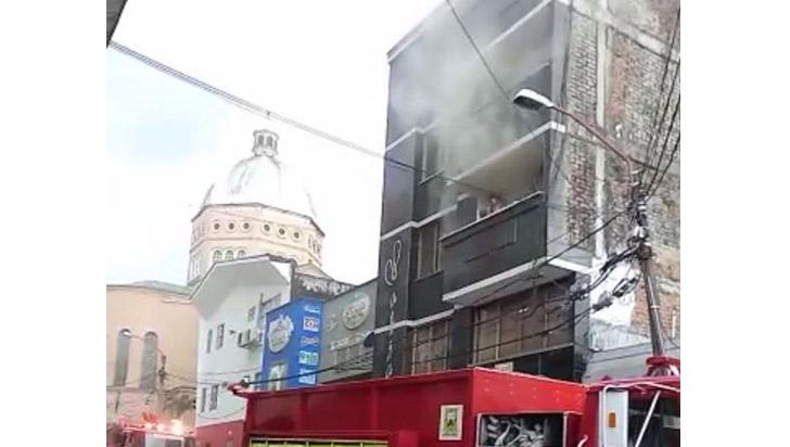 Incendio en el centro de Armenia no dejó heridos
