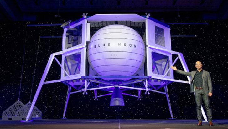 Esta es Blue Moon, la nave espacial que llevaría humanos de vuelta a la Luna
