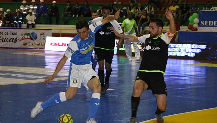 Caciques, a una victoria de la final de la Copa de Las Américas de Futsalón