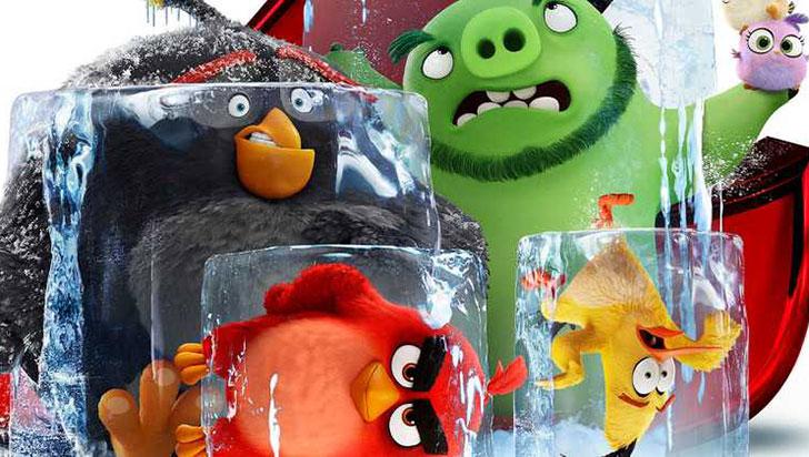 Los pájaros de Angry Birds 'sobrevuelan' Cannes en la víspera de su 72 edición