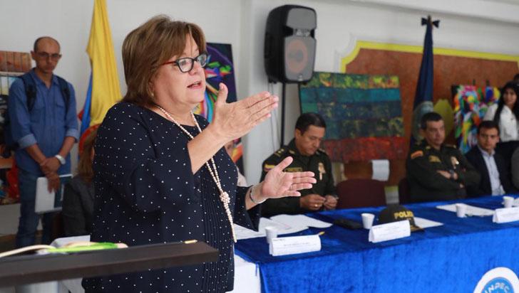 La ministra de Justicia, Gloria Borrero, renunció a su cargo