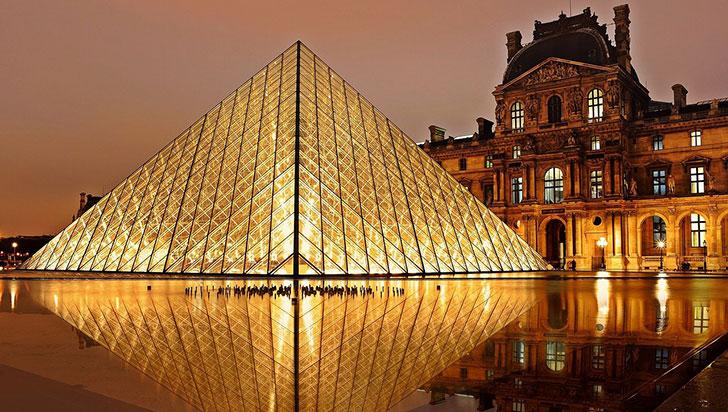 Murió a los 102 años el arquitecto I.M. Pei, creador de la pirámide de Louvre