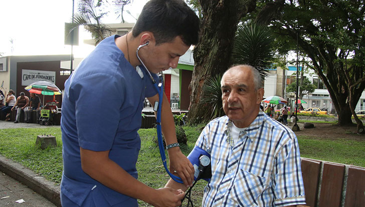 8.968 personas atendidas por hipertensión; hábitos saludables para prevenir