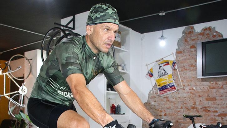 Andrés Bedoya será profesional por un día en el Gran Fondo de New York