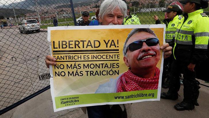 Líderes de las Farc afirman que recaptura de Santrich es un ataque a la paz