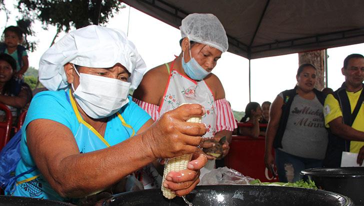 Con la concentración como principal ingrediente, María fue la 'Maestra de Cocina'