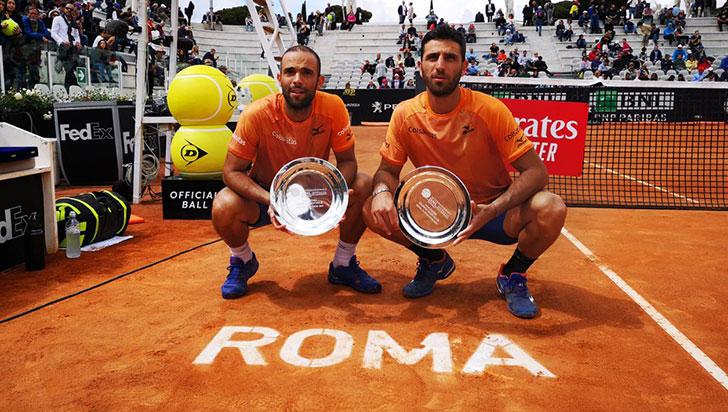 Juan Sebastián Cabal y Robert Farah repitieron título en el Masters 1000 de Roma