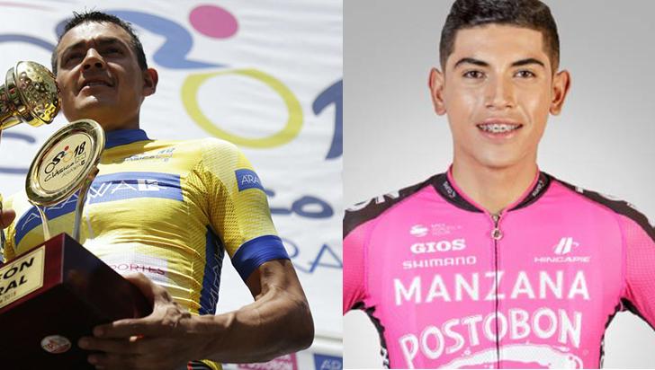 Los ciclistas Amador y Cano, suspendidos provisionalmente
