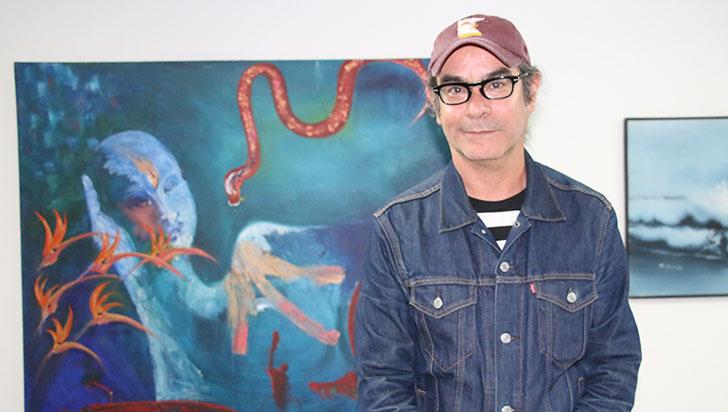 """""""El arte tiene muchas potencialidades como agente de cambio y transformaciones"""": Xavier Andrade"""
