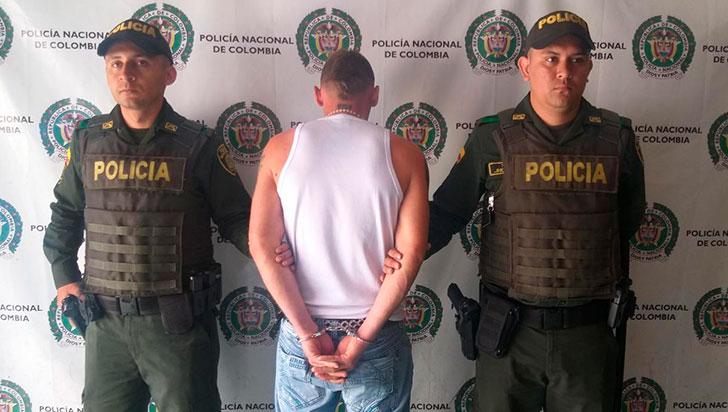 Capturado para purgar condena
