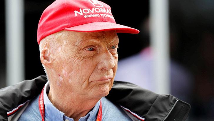 A los 70 años murió Niki Lauda, tres veces campeón del mundo de Fórmula 1