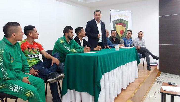 Tigres del Quindío, un equipo 100 % conformado por quindianos, resaltaron sus directivos