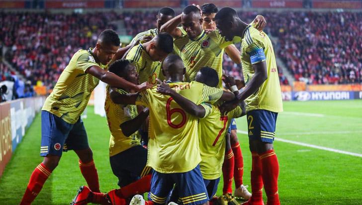 Colombia se impuso ante Polonia en su debut en el mundial Sub-20