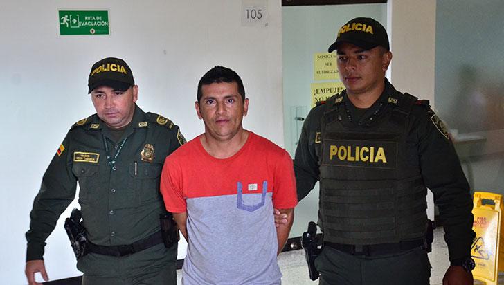 Quimbayuno fue detenido en Pereira por un homicidio