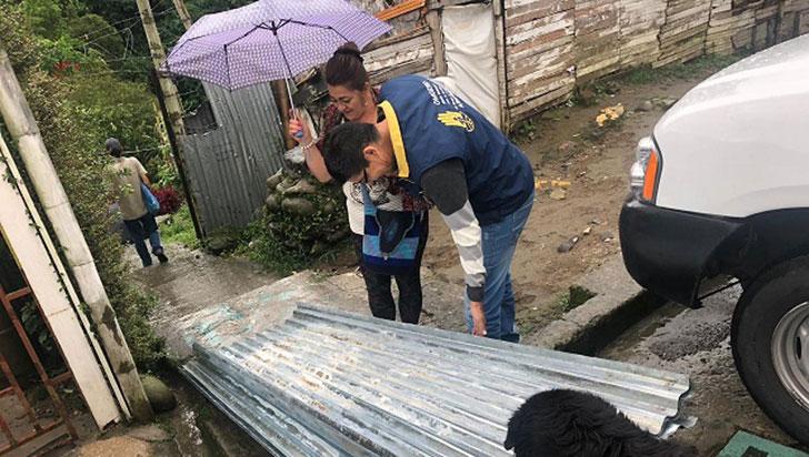 Omgerd de Armenia entregó ayudas humanitarias a damnificados por las lluvias