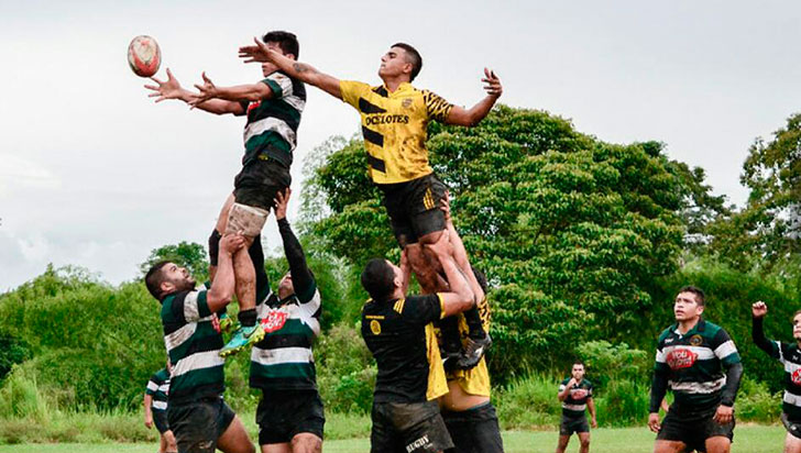 Caciques RC jugará semifinal de torneo de rugby de Risaralda