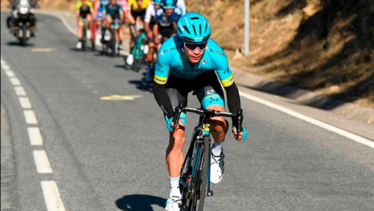 A pesar de la mala jornada, López es décimo en el Giro
