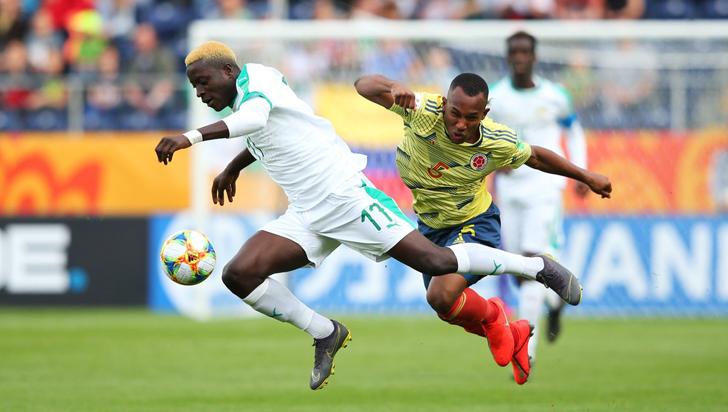En mundial sub-20, Colombia perdió 0-2 contra Senegal
