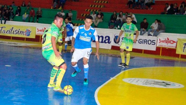 Caciques inició defensa de la copa con goleada ante Lifutsalón Huila
