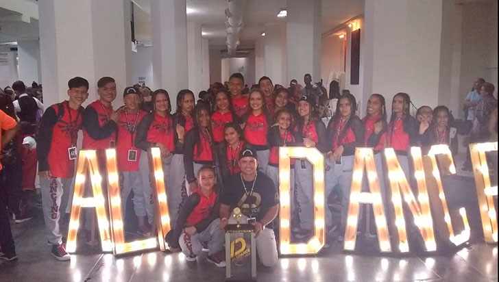 Dancing Montenegro clasificó al continental de All Dance en Panamá