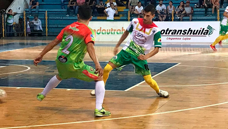 Tigres del Quindío debutó con derrota en la Liga de Futsal