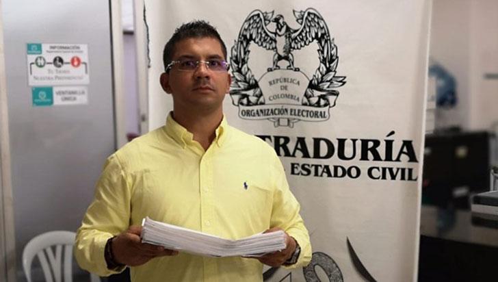 5.000 firmas, entregadas a la Registraduría para cabildo sobre alumbrado público