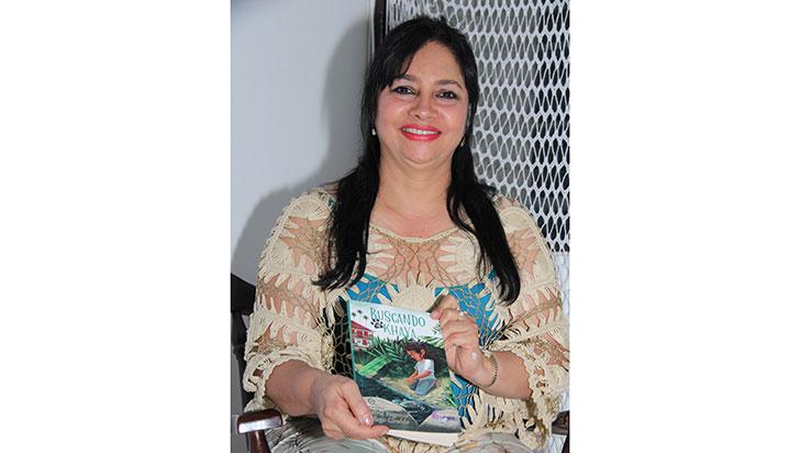 Buscando a Khaya, novela de Beatriz Gallego