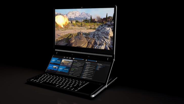 Intel presenta nueva laptop plegable de dos pantallas