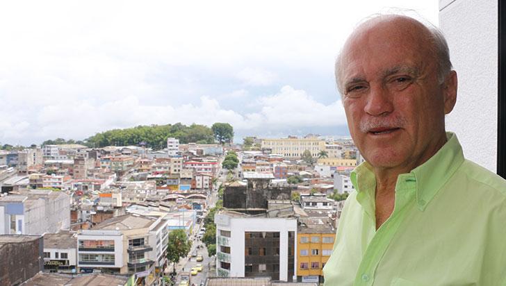 """""""Un alcalde como yo será un defensor del medio ambiente"""": César Augusto Mejía"""