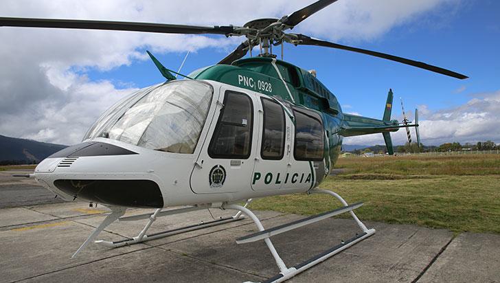 ¿Por qué un helicóptero de la Policía sobrevoló un sector de Armenia?