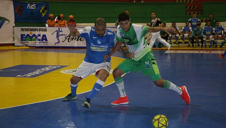Caciques superó a Unión Santafereña y sigue líder de la Copa Futsalón