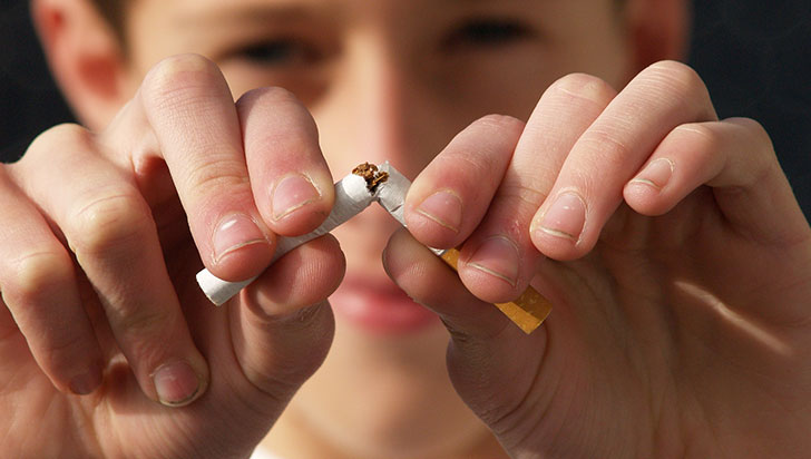 Campaña de salud en Armenia 'dile no al tabaco'