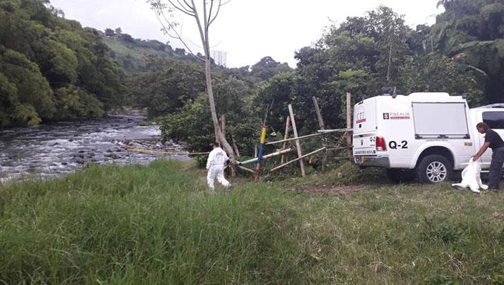 Hallaron cadáver en el río Quindío, sector de La María