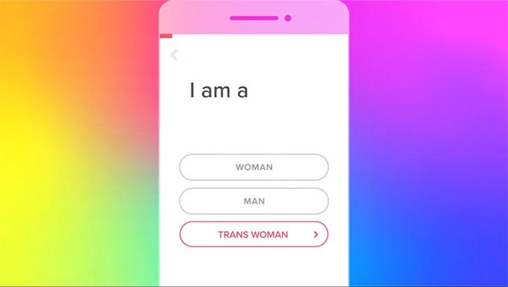 Tinder permitirá identificarse como transexual y elegir la orientación sexual