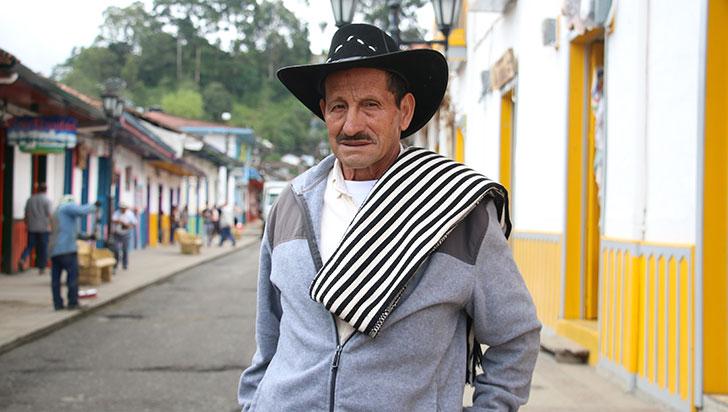 José Ángel García, arriero por 40 años